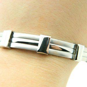 NIB Men's Stainless Steel Bracelet